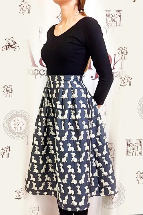 Платье Анита (Собачки)