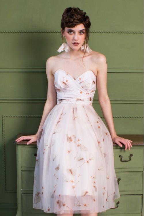 Платье Анюша корсетное из органзы