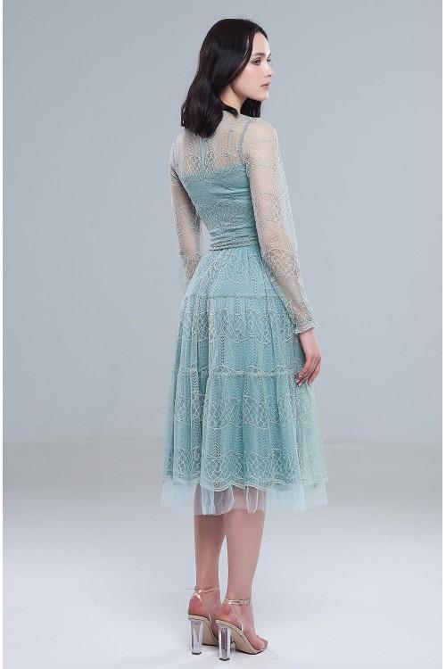 Платье Анжела (Голубое)