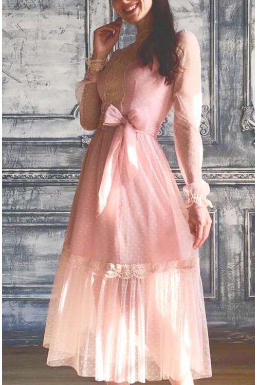 Платье Анжелика (Розовый)