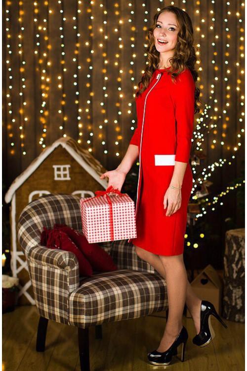 Платье Арлет (красный)