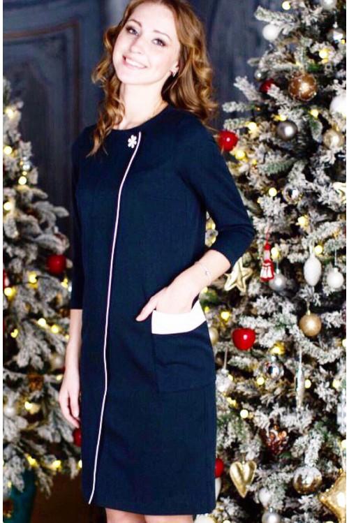 Платье Арлет (синий)