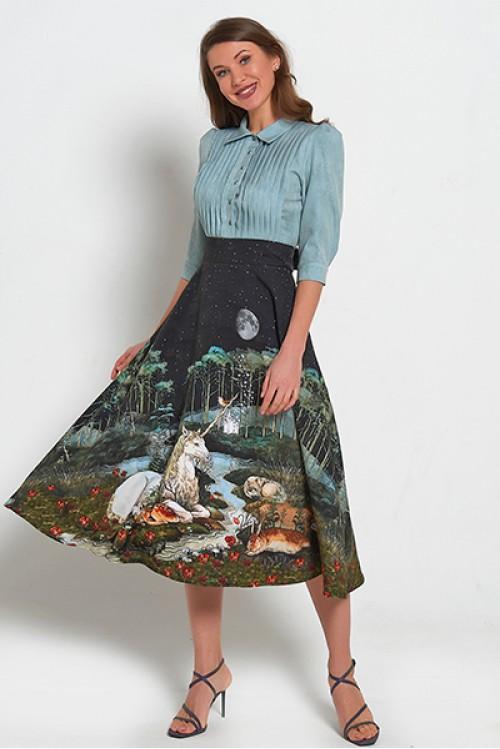 Платье Амалия (Единорог под луной)