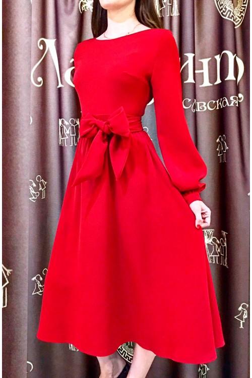 Платье Бабочка (красный)