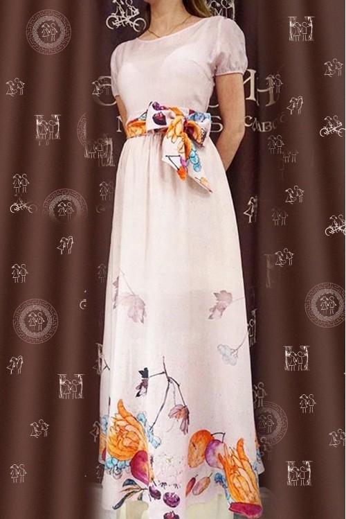 Платье Бабочка Лето (Цветочный узор)