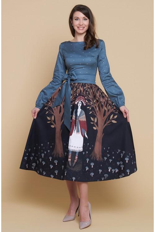 Платье Бабочка (Девочка -мухомор)