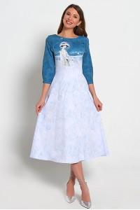 Платье Инесса  (Дыхание весны)