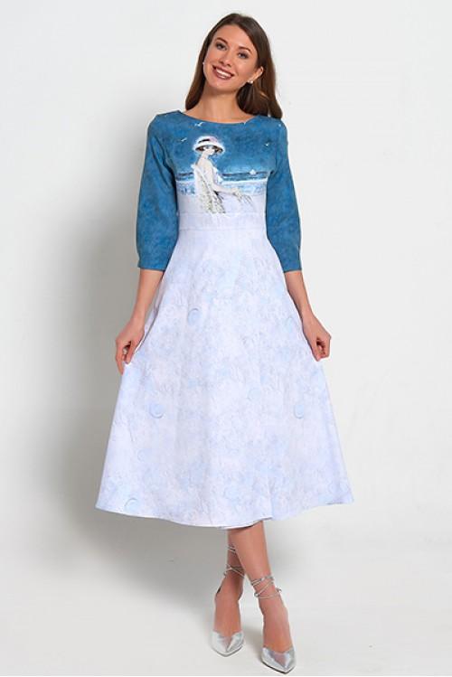 Платье Дыхание весны