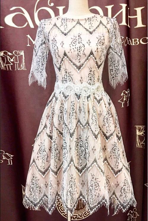 Платье Новая Джульетта (гипюр)