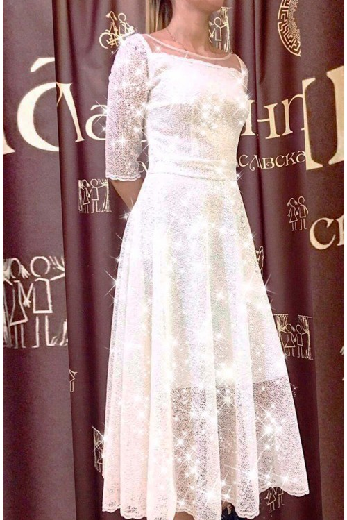 Платье Новая Джульетта (молочный)