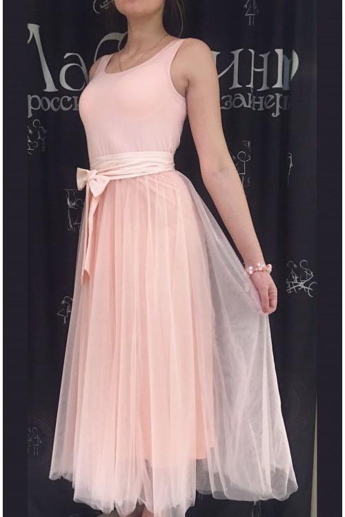 Платье Джулия (розовый)