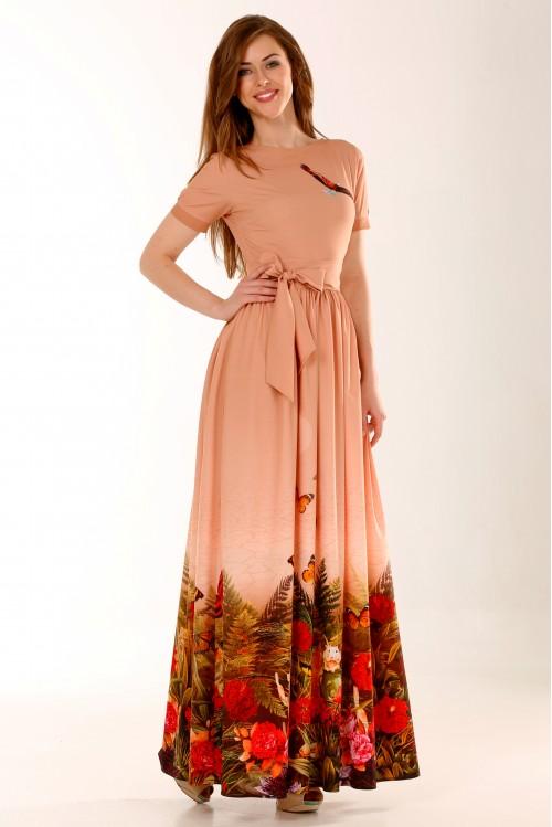 Платье Екатерина (Цветущая пустыня)