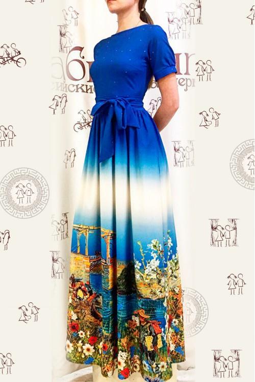 Платье Екатерина (Ван Гог у реки I)