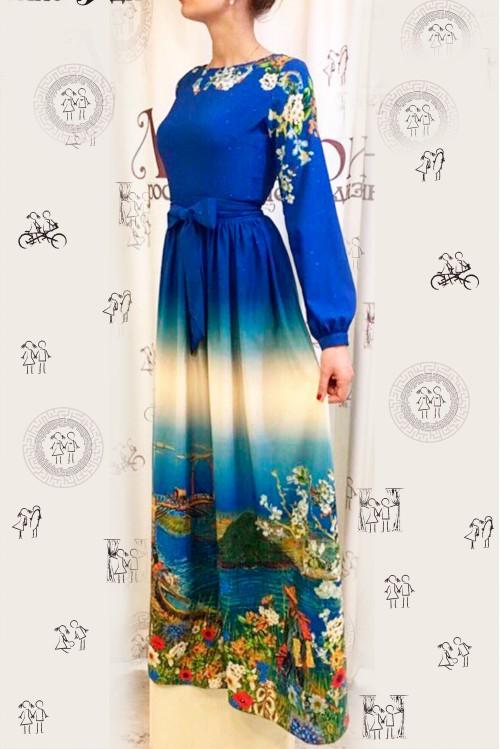 Платье Екатерина (Ван Гог у реки)