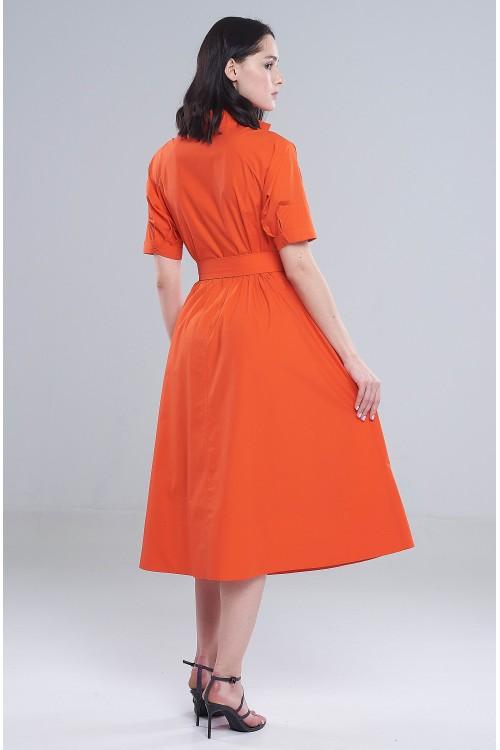 Платье Елена (Оранжевый)