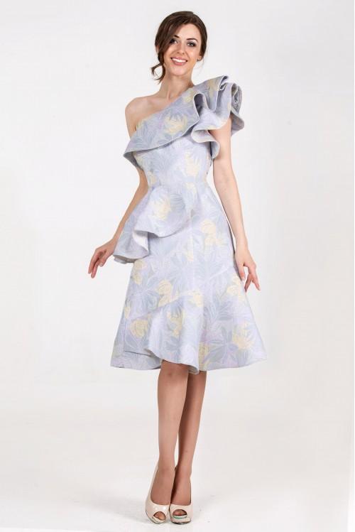 Платье Элина (сиреневый)