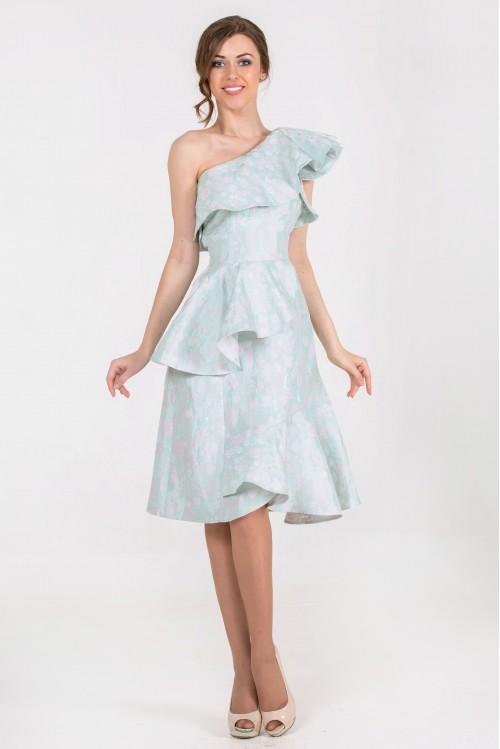 Платье Элина (голубой)