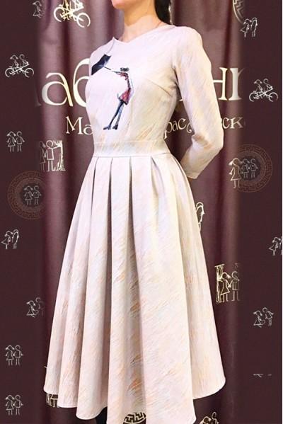 Платье Эльза (Девушка и ветер)