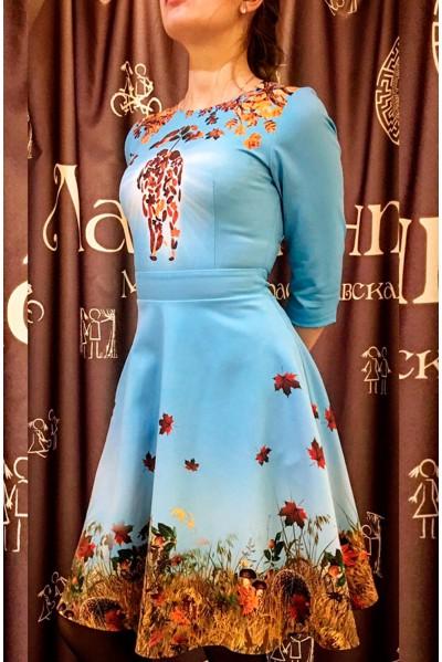 Платье Эмила (Осенью вдвоём), мини