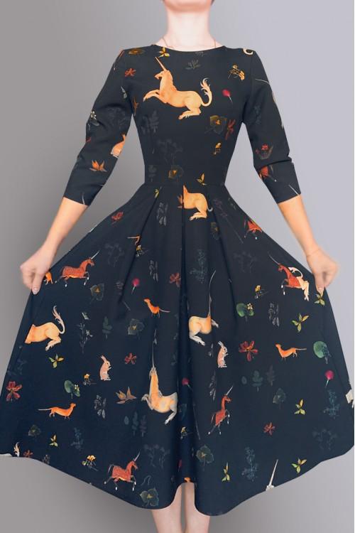 Платье Эмилия (В ассортименте)