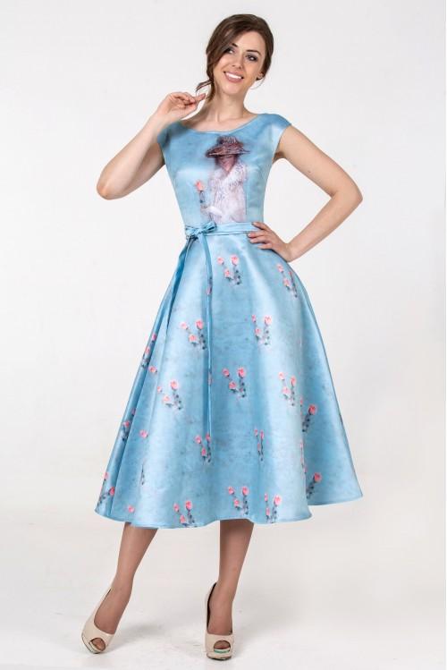 Платье Эшли (Роза)
