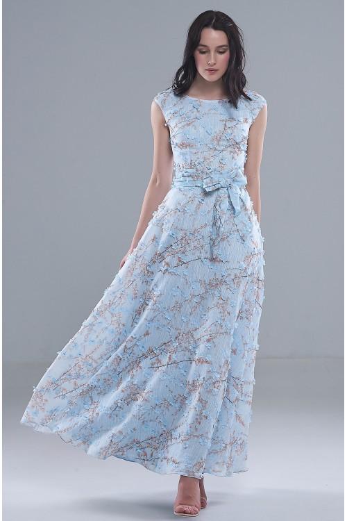 Платье Эшли (Голубое)