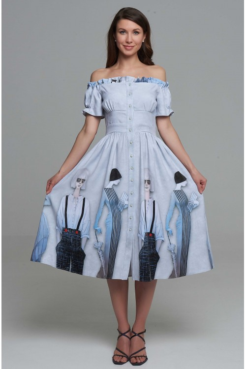 Платье Эстель (Модницы)