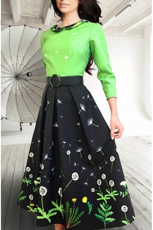 Платье Этель (Одуванчики)