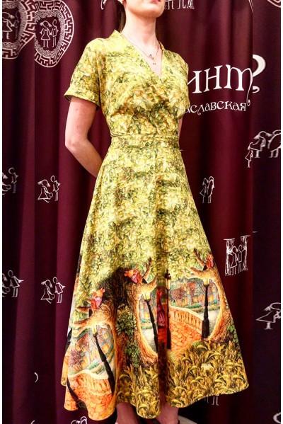Платье Фаина (Зайчики и фонарь)