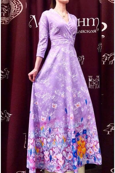 Платье Фаина (Крокусы)