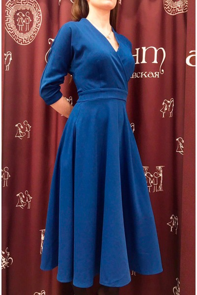 Платье Фаина (синий)