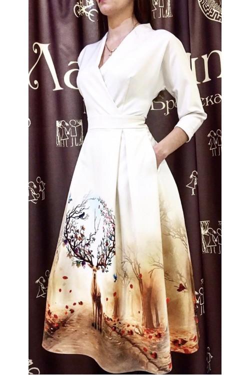 Платье Фаина (Принт)