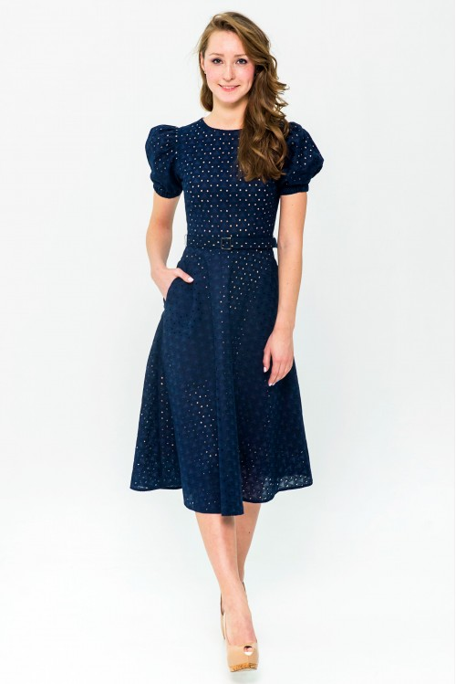 Платье Фиона (Кантри, синий)