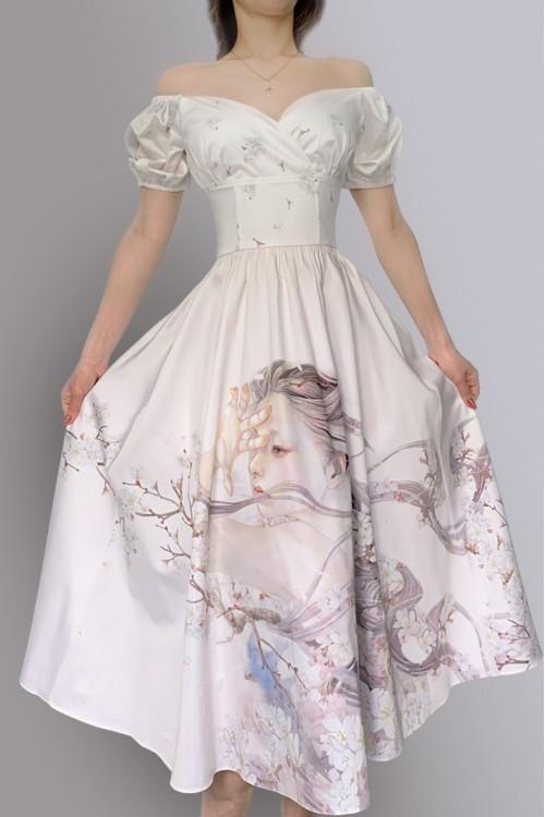 Платье Фонарик (Дуновение весны)