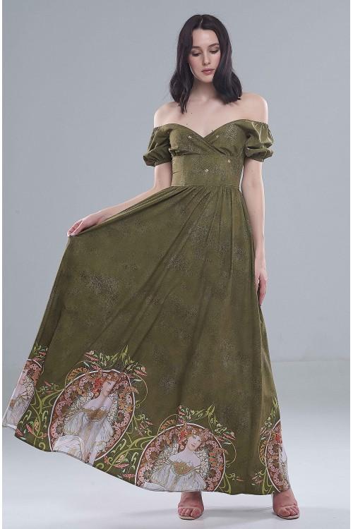 Платье Фонарик (Модерн)