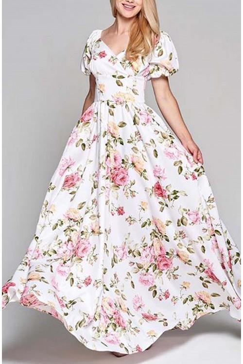 Платье Фонарик (Цветы)
