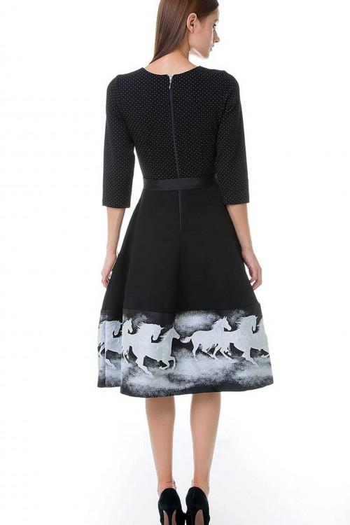 Платье Французский Колокол (Кони)