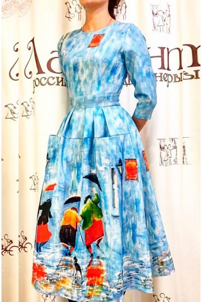 Платье Франсуаза (Три грации осени)