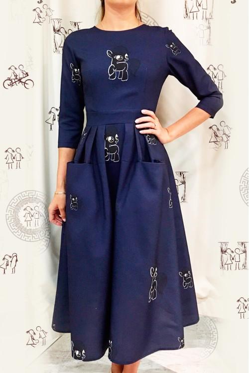 Платье Франсуаза (Пони)