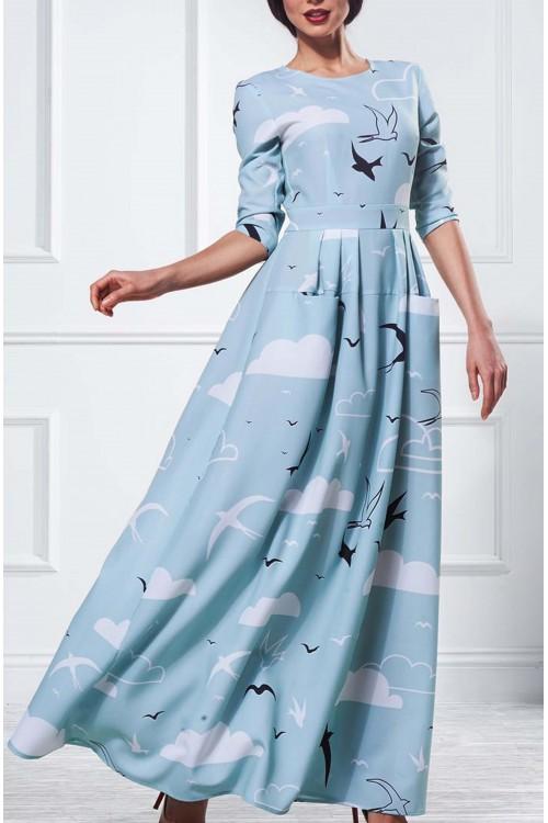 Платье Франсуаза (Принт)