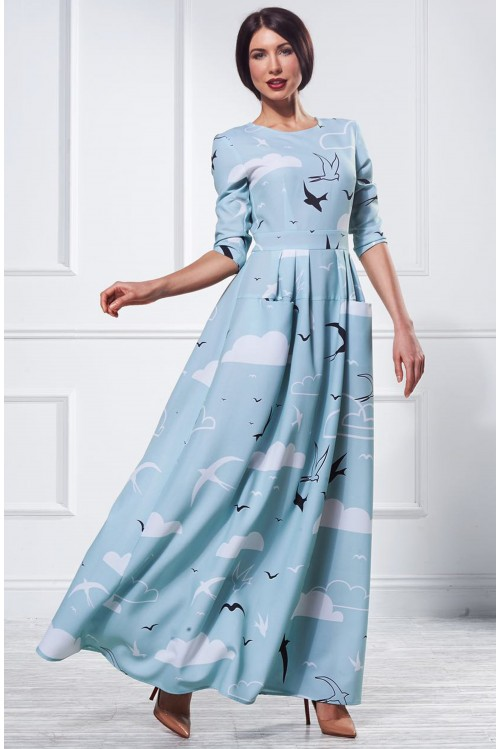 Платье Франсуаза (Ласточки)