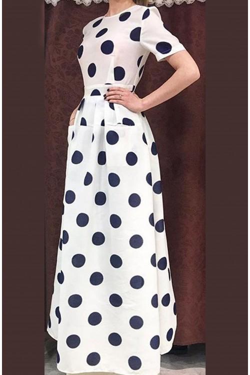 Платье Франсуаза (Горох)