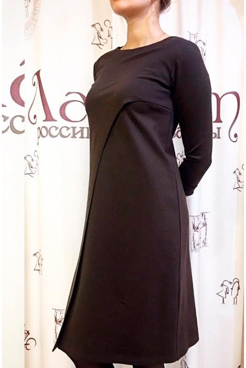 Платье Габи (коричневый)