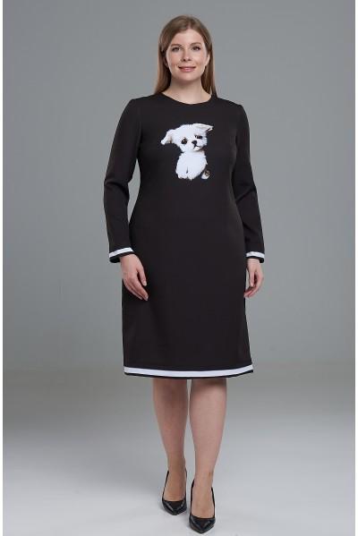 Платье Гала 2 (Собачка Гав) PS