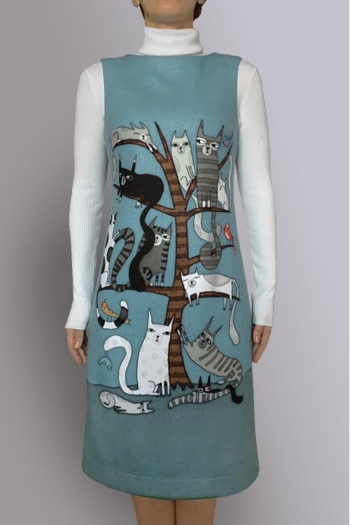 Сарафан Гала 2 (Кошки на дереве)