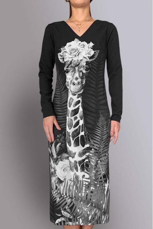 Платье Гала 2 (Собачка Гав/Жираф)