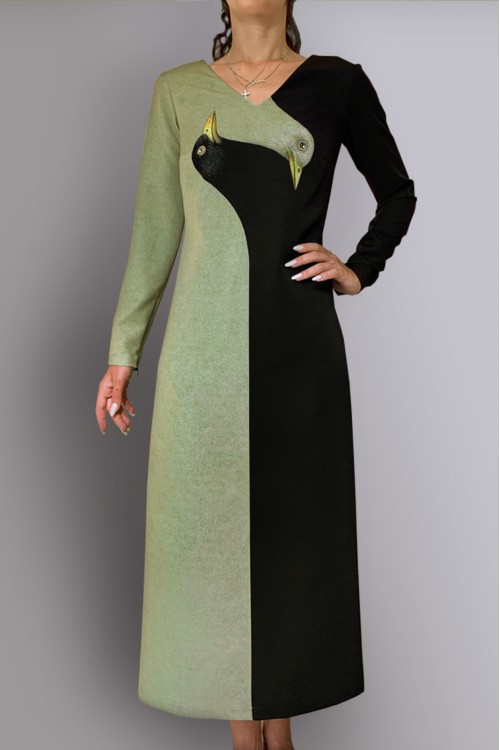 Платье Гала (Две птицы)