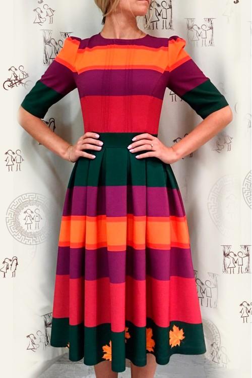 Платье Гимназистка (Осень)