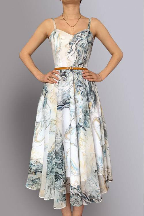 Платье Глория из лёгкого воздушного шифона