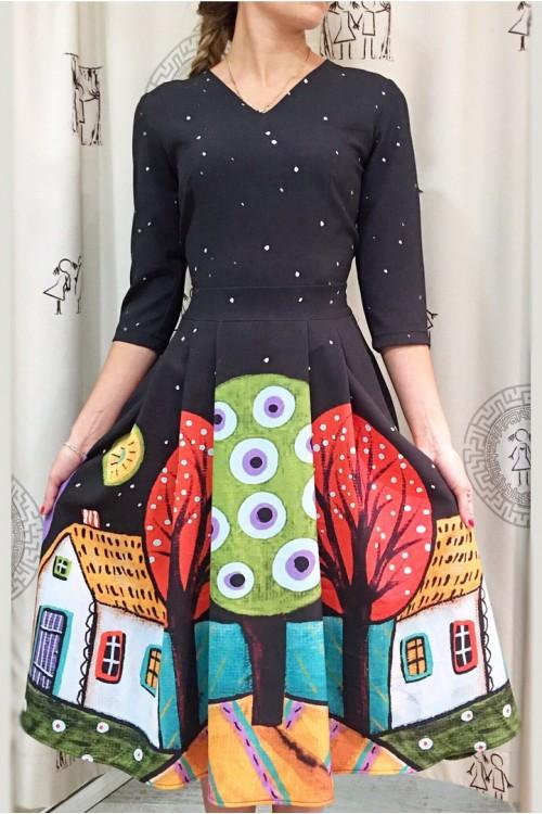 Платье Городская девушка (Ночь)